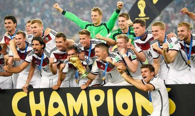залози за световен шампион по футбол 2018